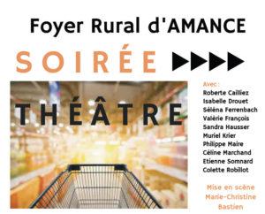 Soirée théâtre - Amance - Caddie