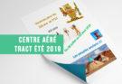 Centre aéré Amance et Eulmont - Tract été 2019