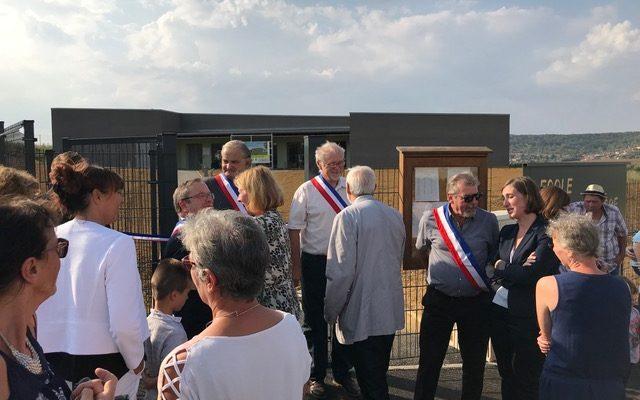 Inauguration école d'Agincourt