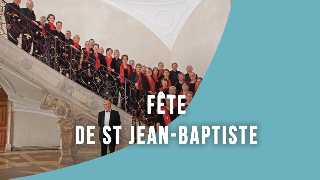 Fête de St Jean-Baptiste - Amance (54)