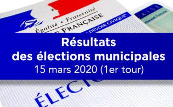 Amance (54) - Résultats des élections municipales 2020 - 1er tour