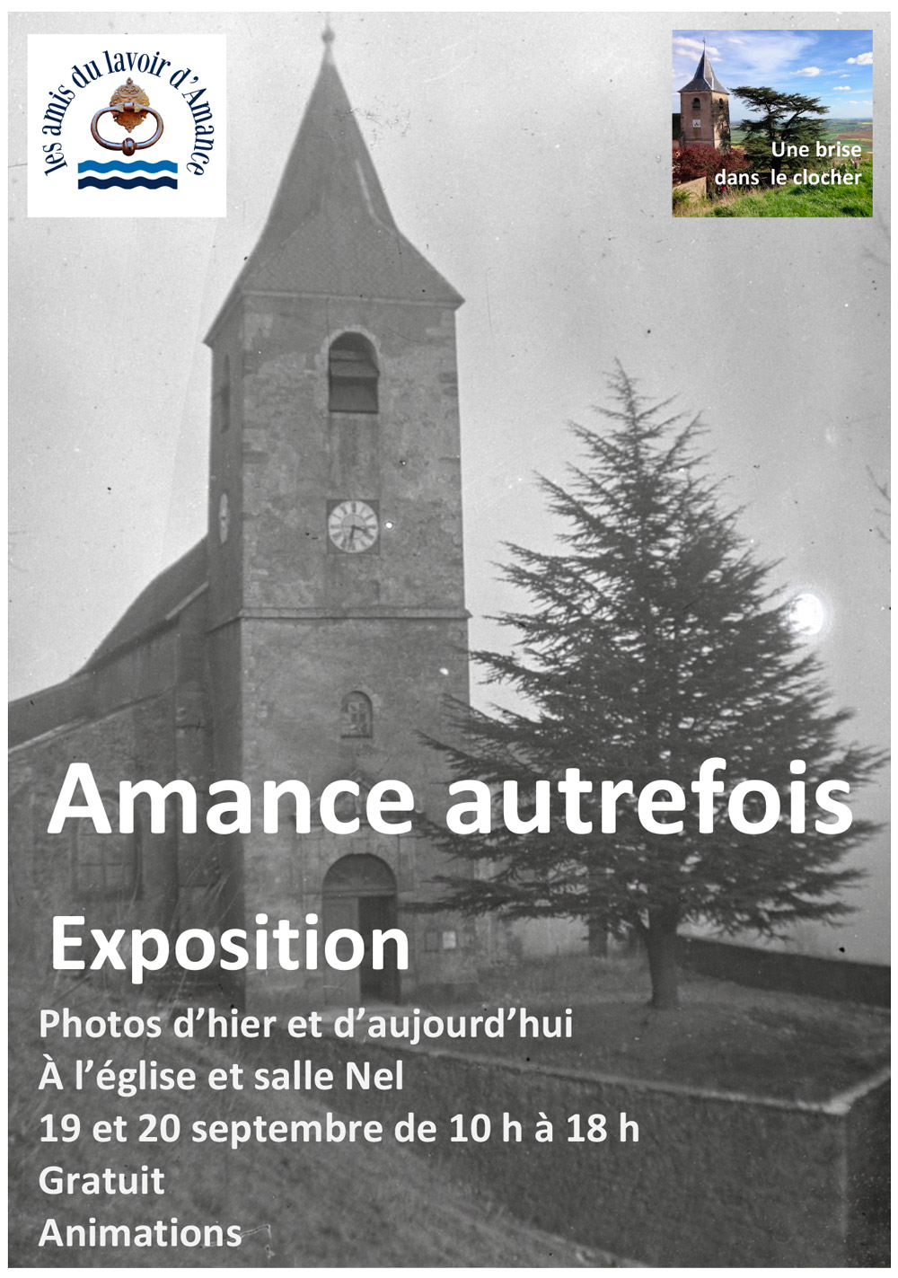 Exposition photos - Amance autrefois