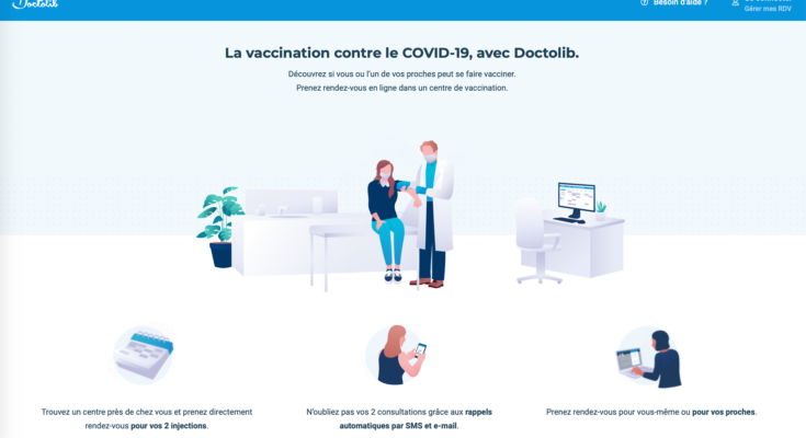 Vaccination Covid-19 / Doctolib