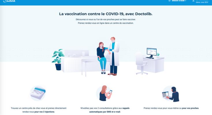 Vaccination Covid-19 / Doctolib