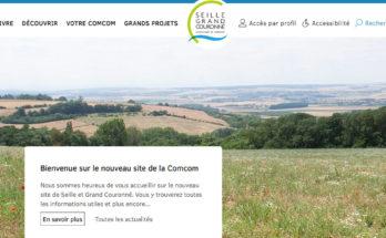 Nouveau site - Communauté de Communes Seille et Grand Couronné