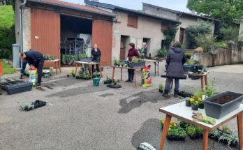 Amance - atelier fleurissement