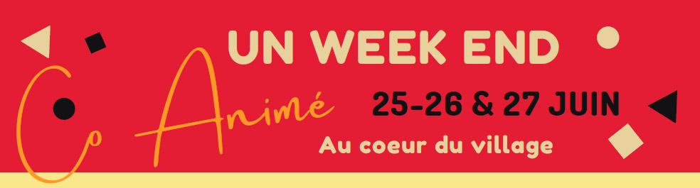 Amance - Week-end animé - 25, 26, 27 juin 2021