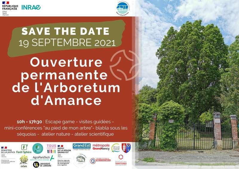 L'Arboretum d'Amance ouvre ses portes